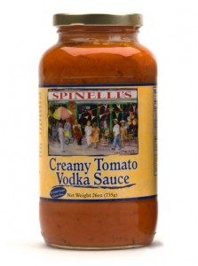 creamy tomato vodka